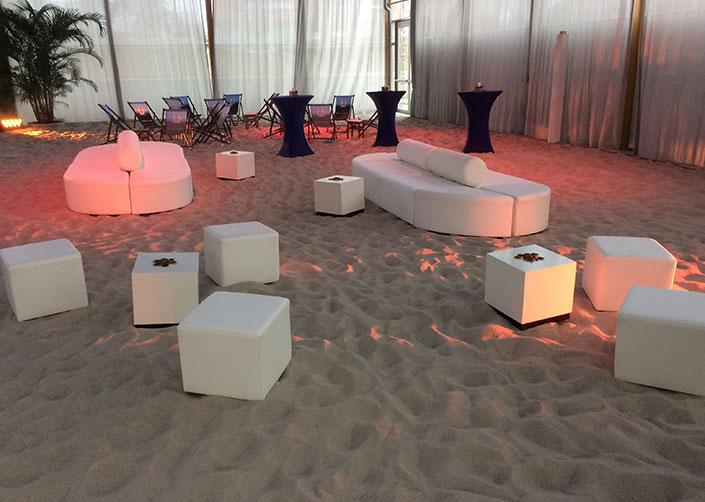 Location für private Events Roberto Beach 3